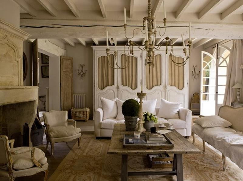 43 Elegantly Decorated Living Rooms-39