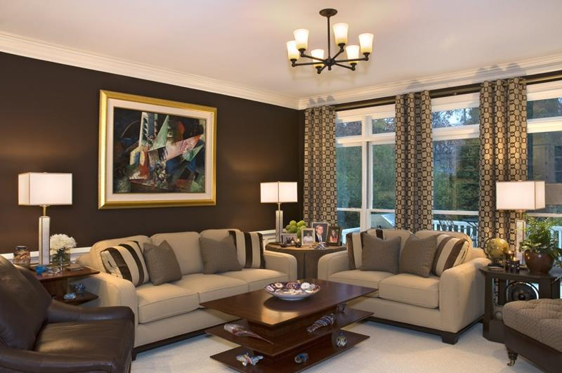 43 Elegantly Decorated Living Rooms-4