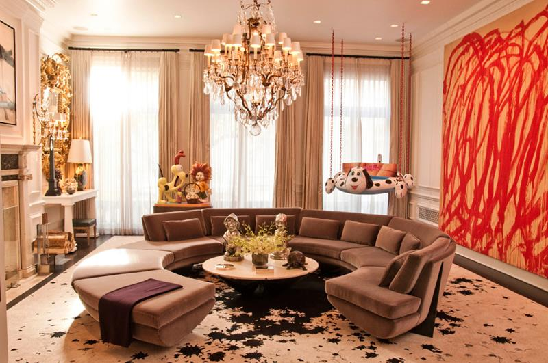 43 Elegantly Decorated Living Rooms-41