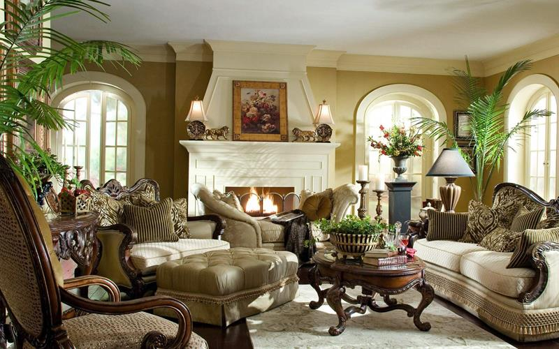 43 Elegantly Decorated Living Rooms-7