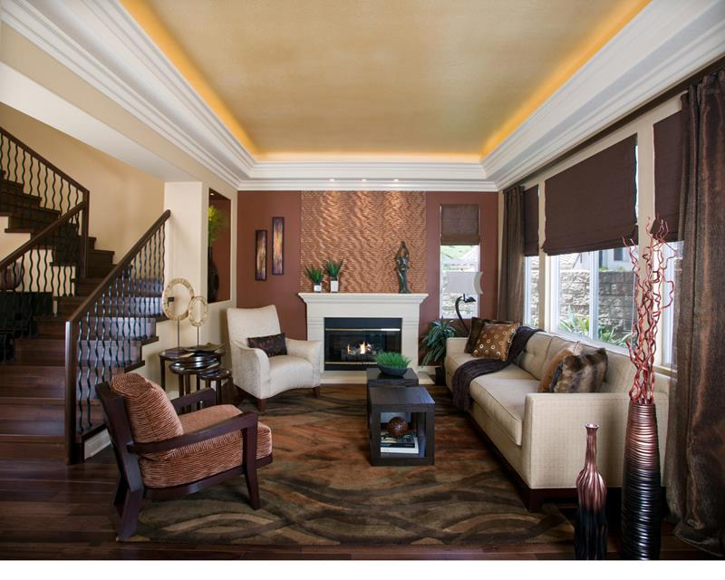 43 Elegantly Decorated Living Rooms-title