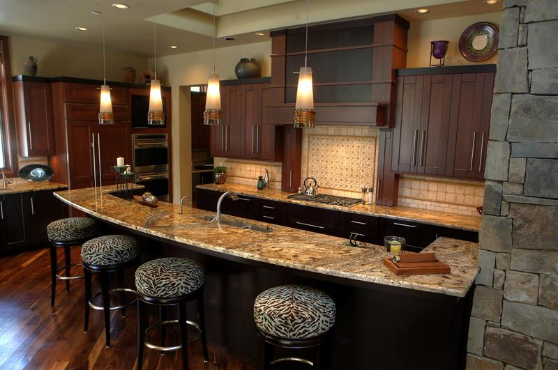 44 Custom Kitchens Of All Styles-13