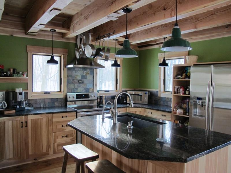 44 Custom Kitchens Of All Styles-14
