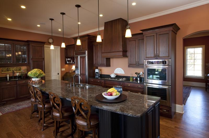 44 Custom Kitchens Of All Styles-15
