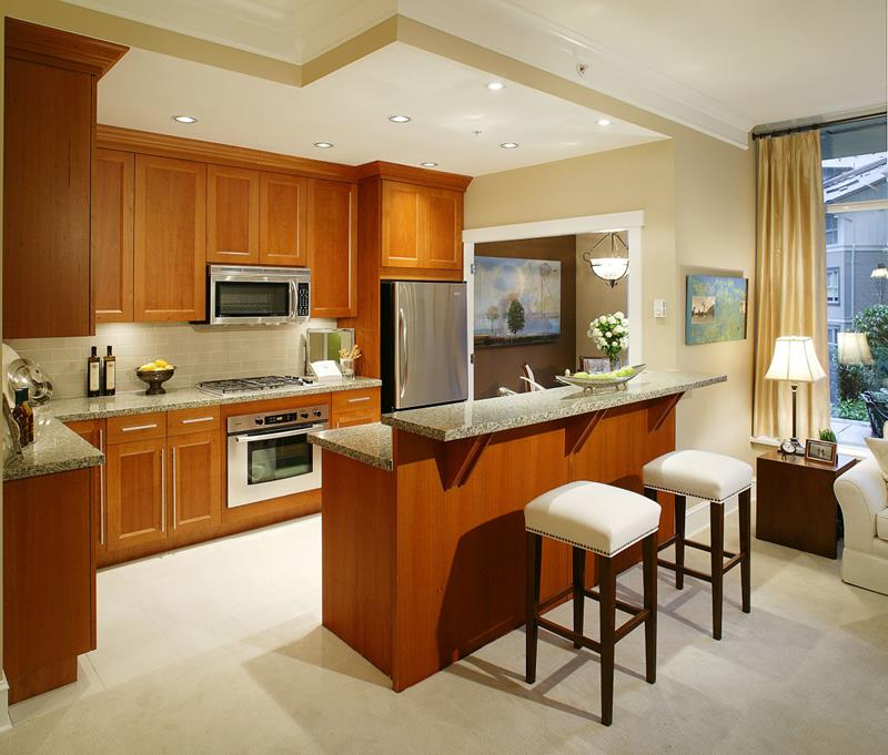 44 Custom Kitchens Of All Styles-16
