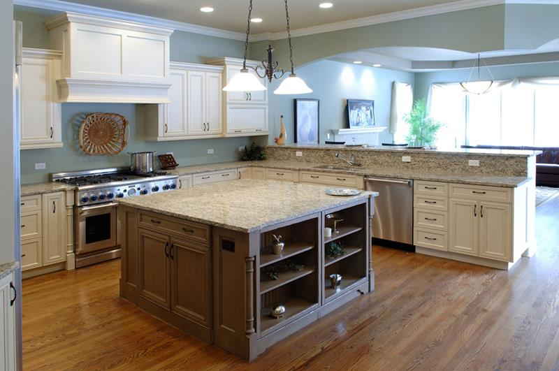 44 Custom Kitchens Of All Styles-17