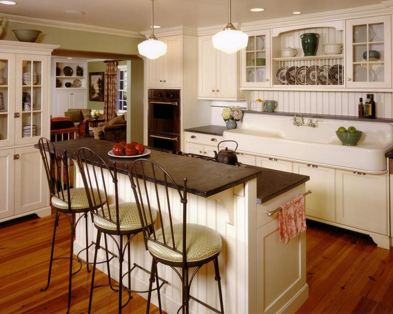 44 Custom Kitchens Of All Styles-18
