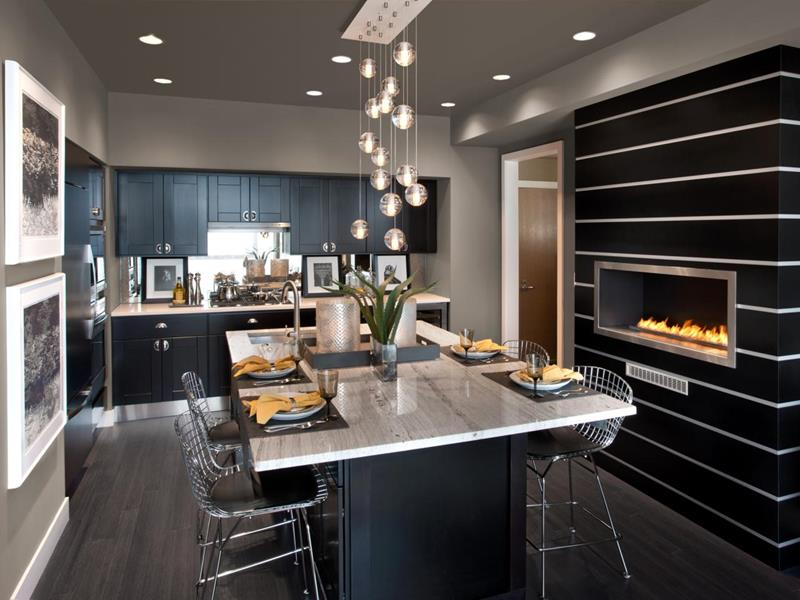 44 Custom Kitchens Of All Styles-19