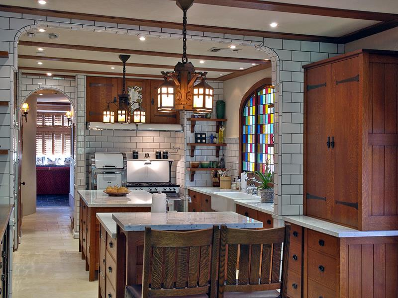 44 Custom Kitchens Of All Styles-25