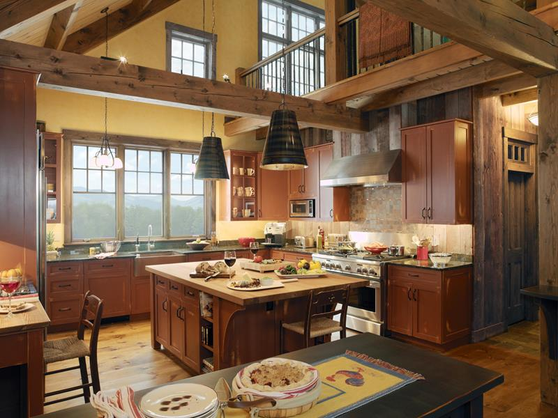 44 Custom Kitchens Of All Styles-26