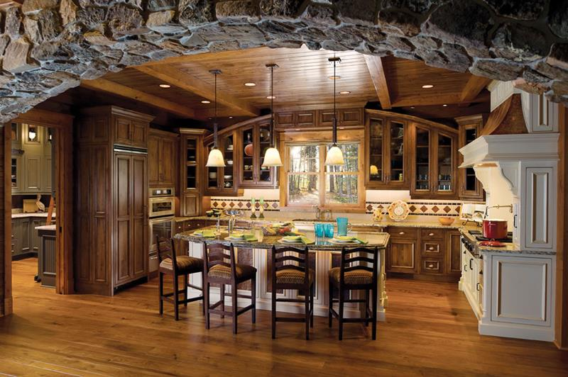 44 Custom Kitchens Of All Styles-31