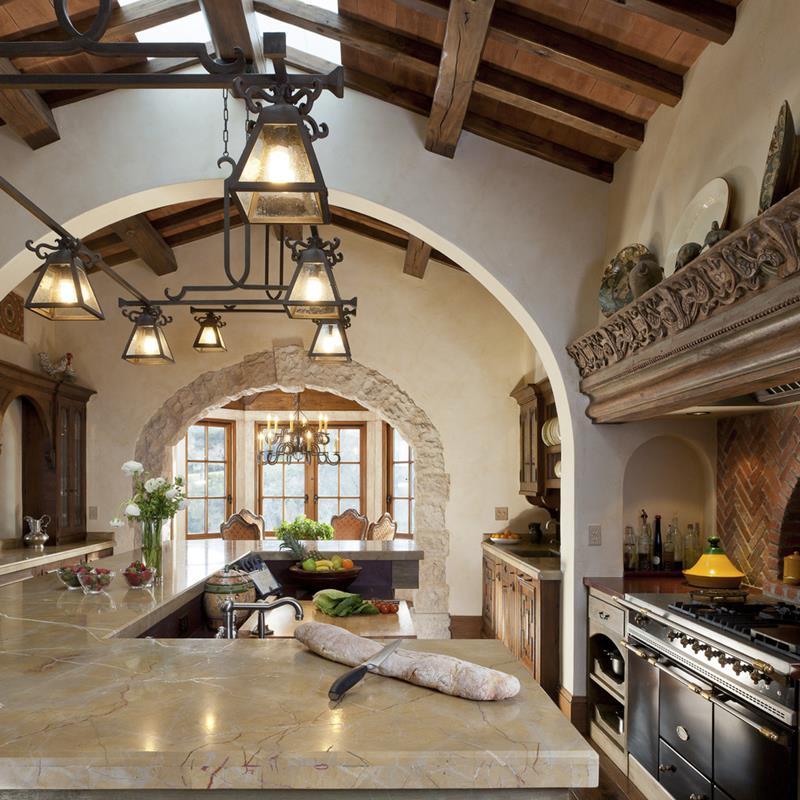 44 Custom Kitchens Of All Styles-34