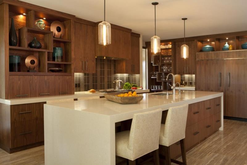 44 Custom Kitchens Of All Styles-37