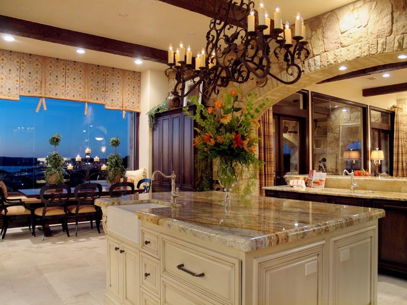 44 Custom Kitchens Of All Styles-38