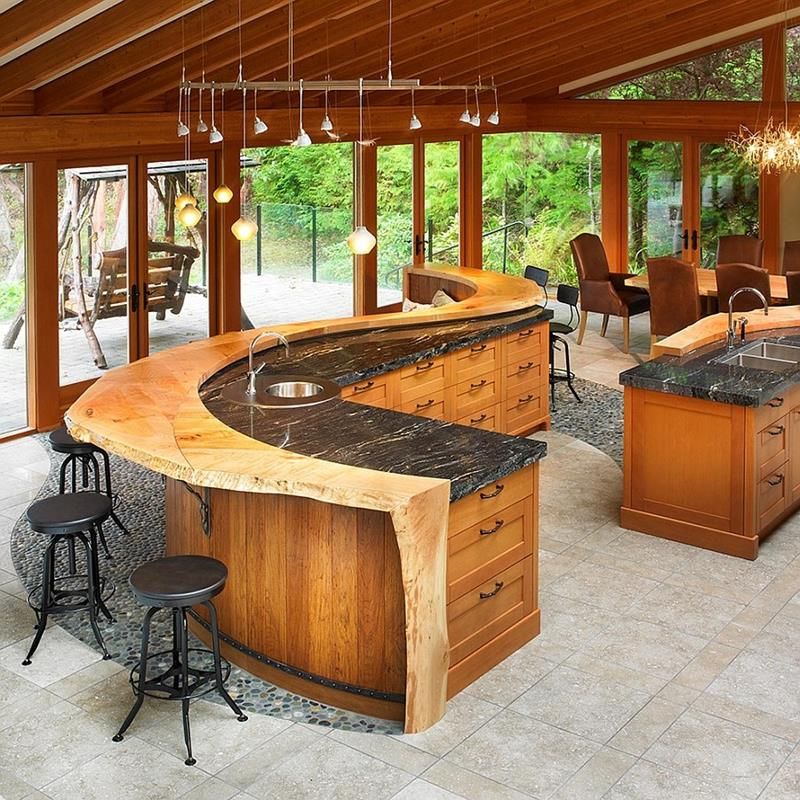 44 Custom Kitchens Of All Styles-6