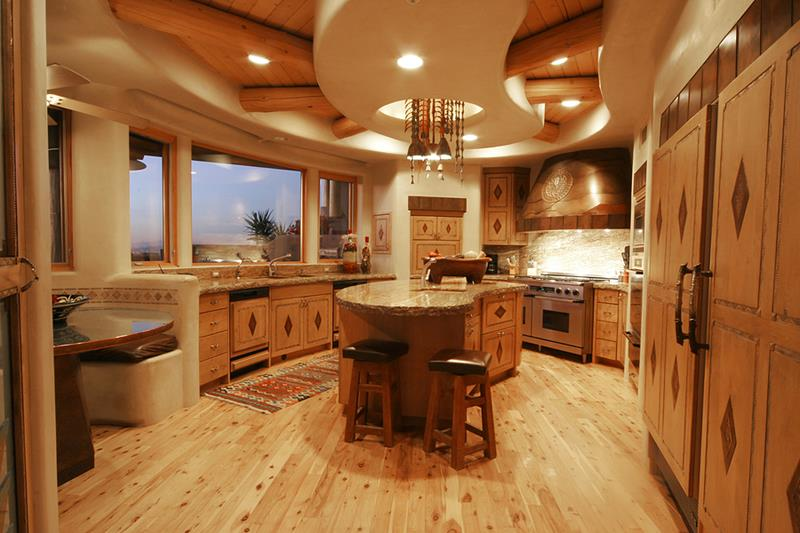44 Custom Kitchens Of All Styles-7