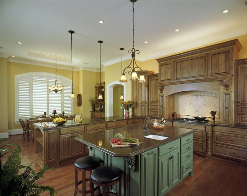 44 Custom Kitchens Of All Styles-9