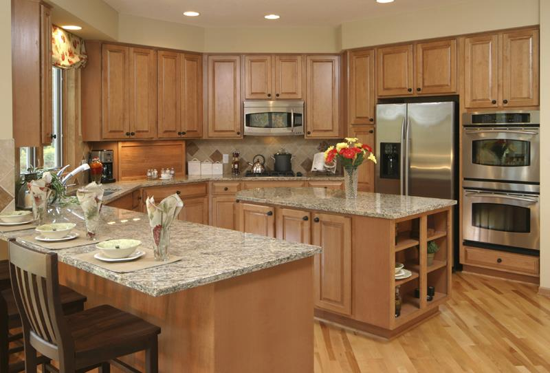 52 U Shaped Kitchen Designs With Style-11