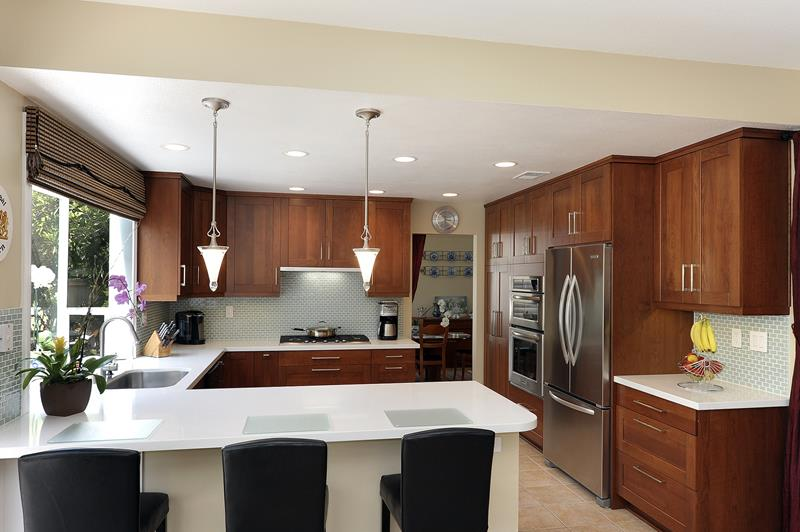 52 U Shaped Kitchen Designs With Style-13