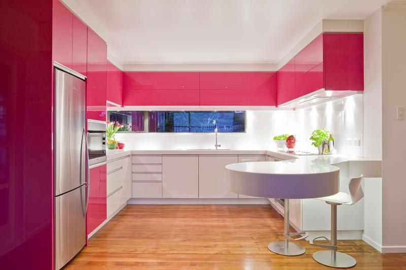 52 U Shaped Kitchen Designs With Style-19