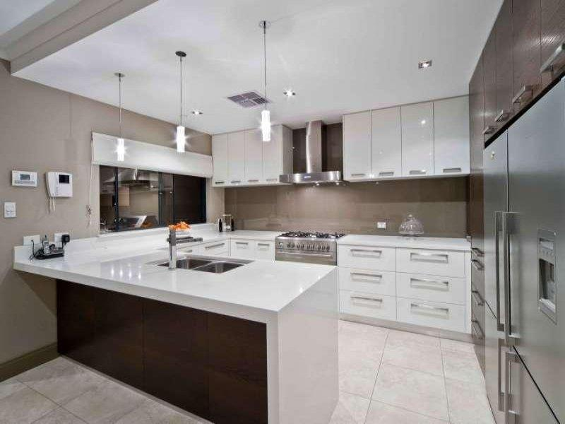 52 U Shaped Kitchen Designs With Style-20a