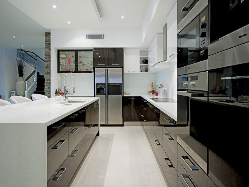 52 U Shaped Kitchen Designs With Style-31