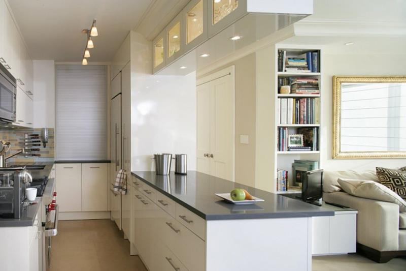 52 U Shaped Kitchen Designs With Style-37