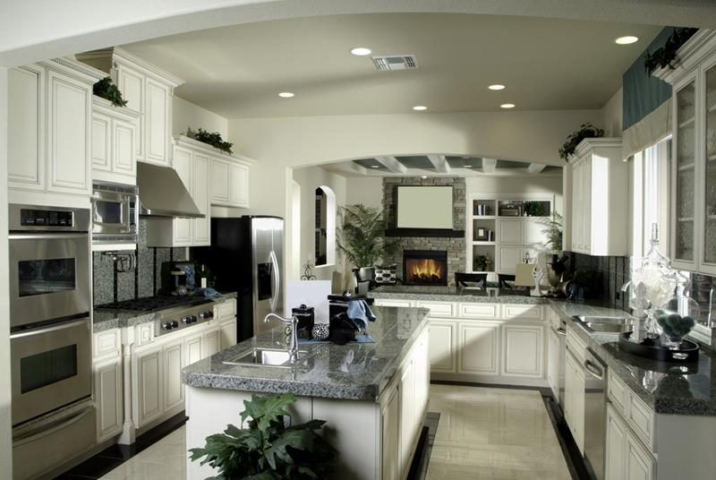 52 U Shaped Kitchen Designs With Style-41