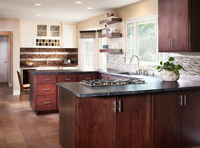 52 U Shaped Kitchen Designs With Style-46