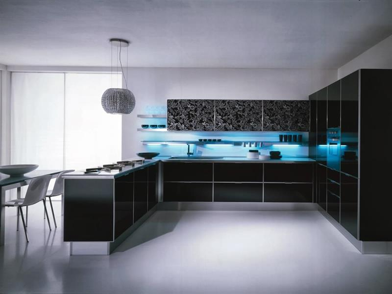 52 U Shaped Kitchen Designs With Style-50