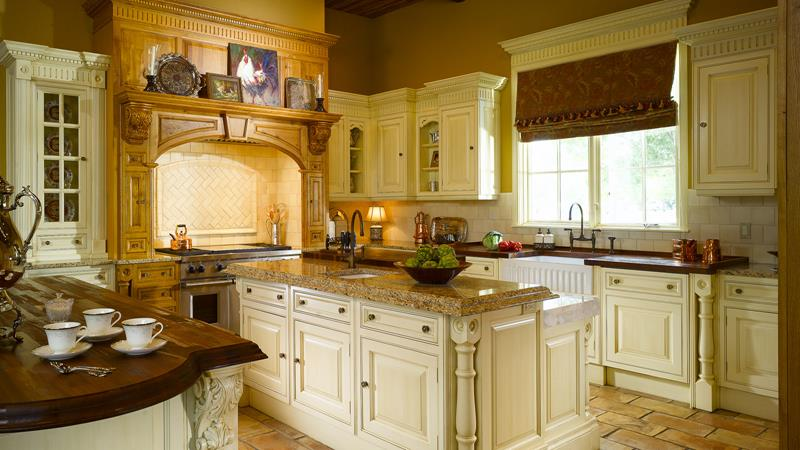 52 U Shaped Kitchen Designs With Style-51