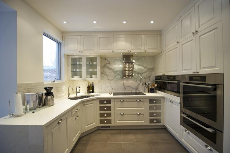 52 U Shaped Kitchen Designs With Style-52