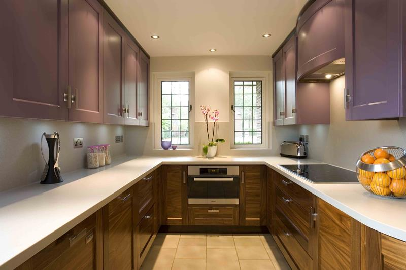 52 U Shaped Kitchen Designs With Style-7