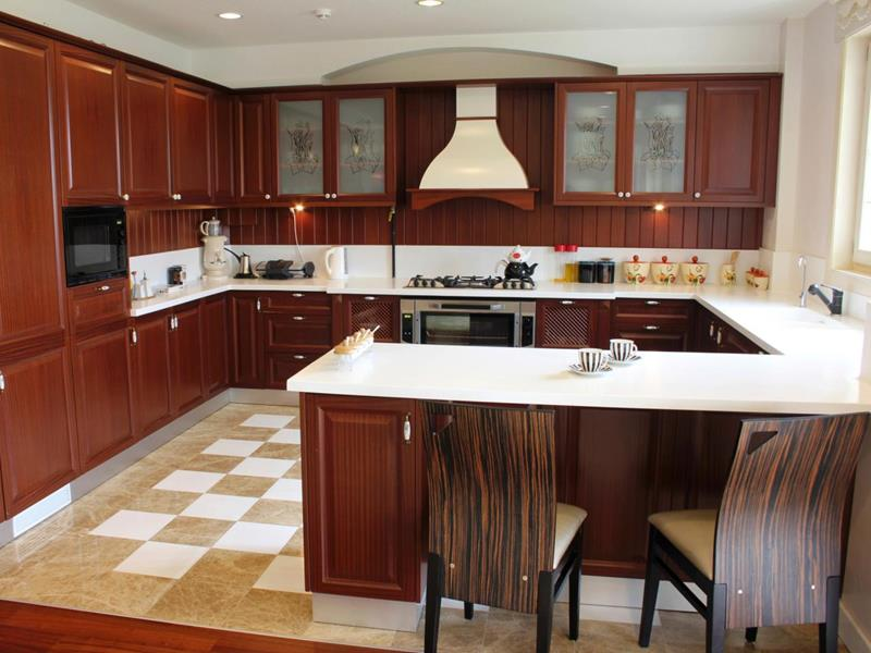 52 U Shaped Kitchen Designs With Style-9