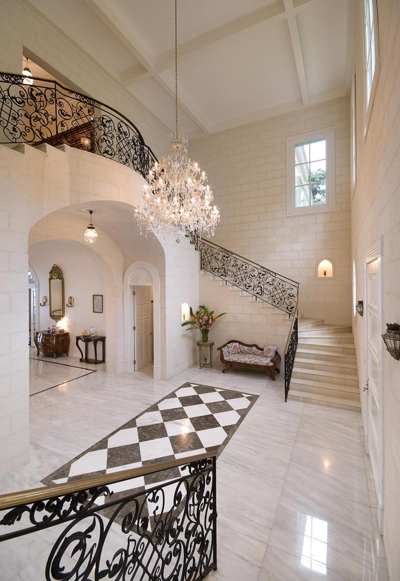 56 Beautiful And Luxurious Foyer Designs-13