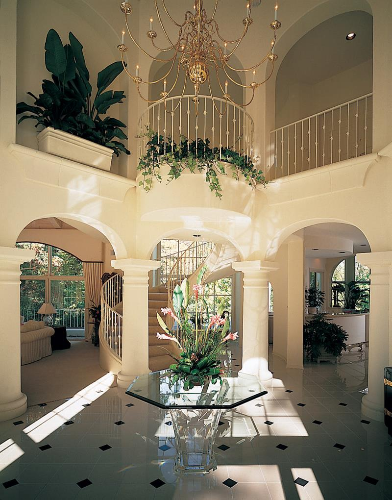 56 Beautiful And Luxurious Foyer Designs-18
