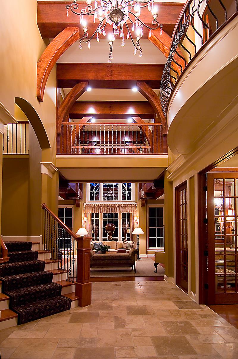 56 Beautiful And Luxurious Foyer Designs-19