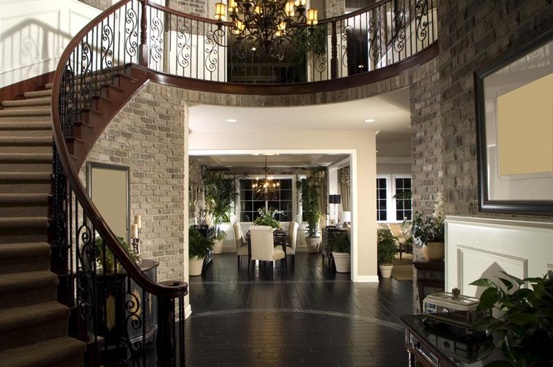 56 Beautiful And Luxurious Foyer Designs-22