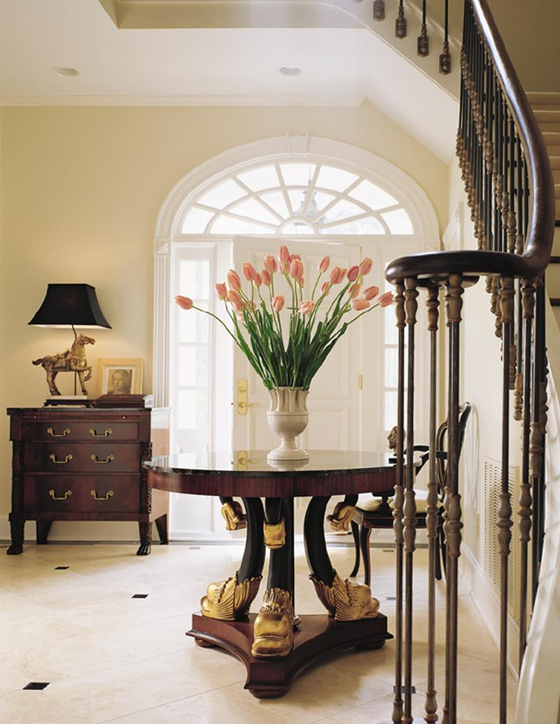 56 Beautiful And Luxurious Foyer Designs-23