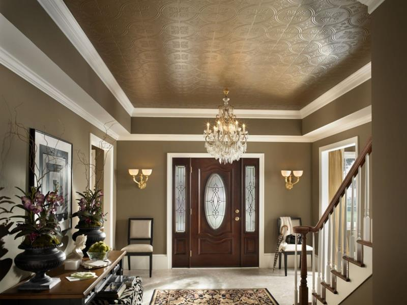56 Beautiful And Luxurious Foyer Designs-28