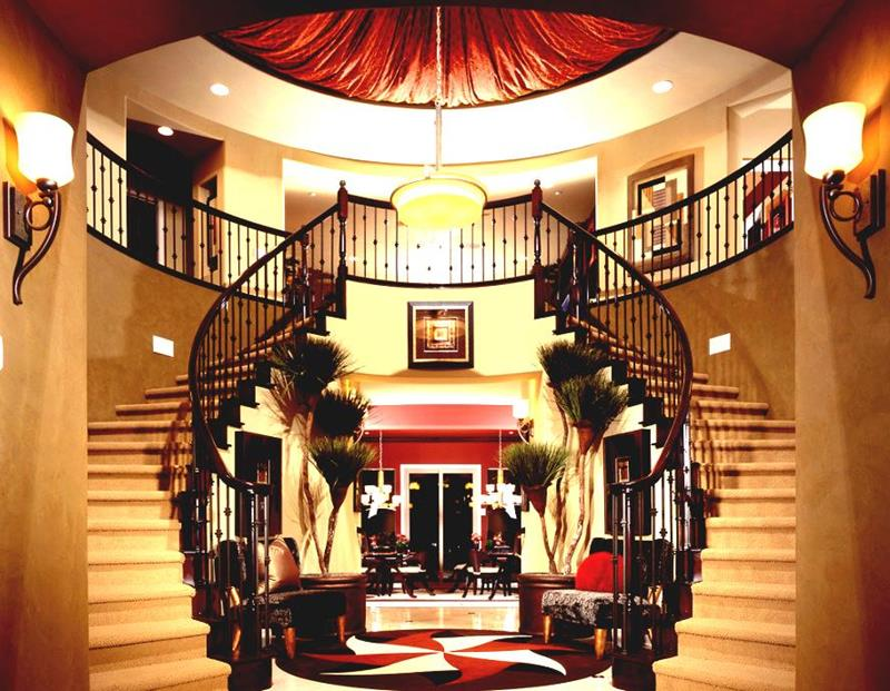 56 Beautiful And Luxurious Foyer Designs-40