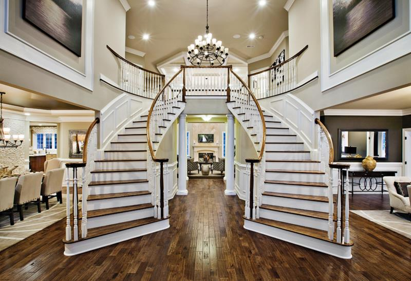56 Beautiful And Luxurious Foyer Designs-48