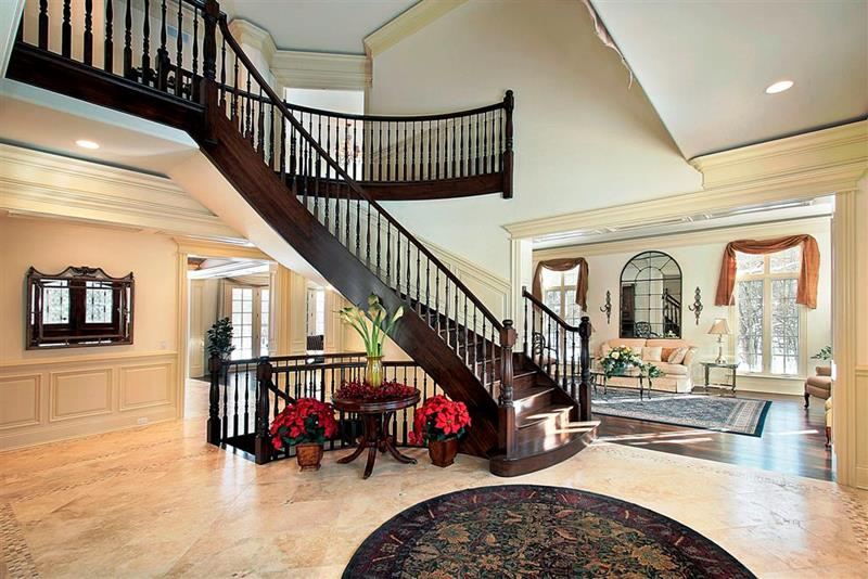 56 Beautiful And Luxurious Foyer Designs-50