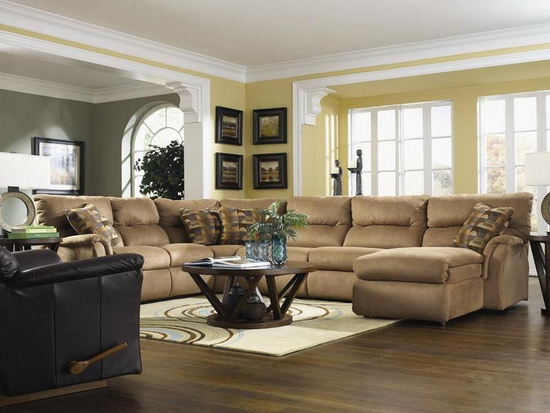 22 Living Room Designs With Sectionals-1