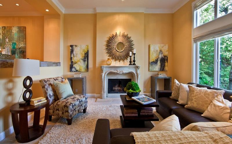 22 Living Rooms With Earth Tones-14