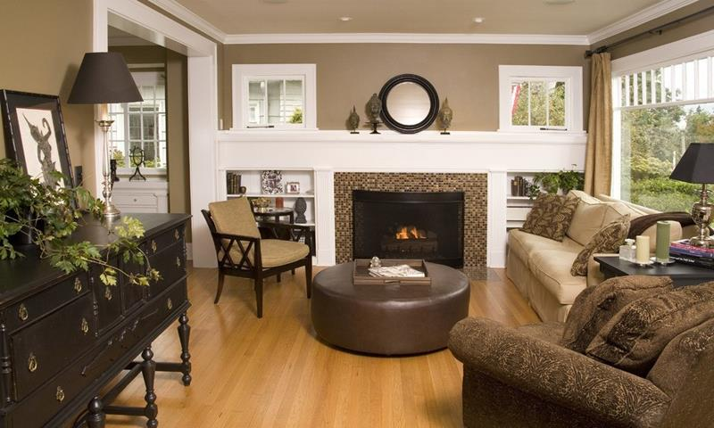 22 Living Rooms With Earth Tones-7