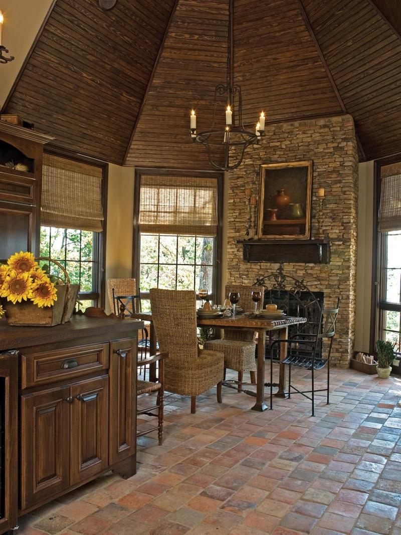22 Stunning Kitchens With Tile Floors-1