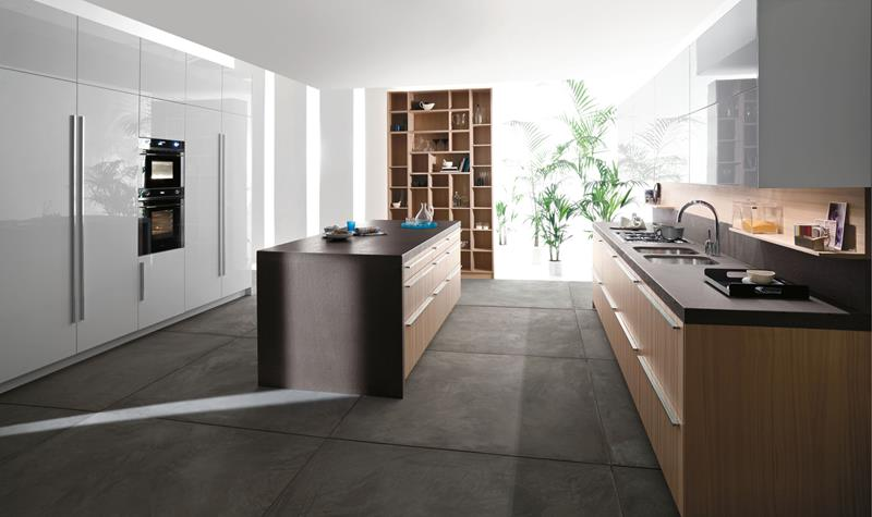 22 Stunning Kitchens With Tile Floors-8