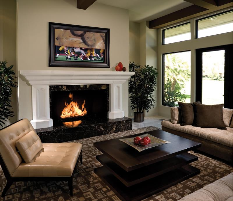 23 Living Room Designs With Fireplaces-14