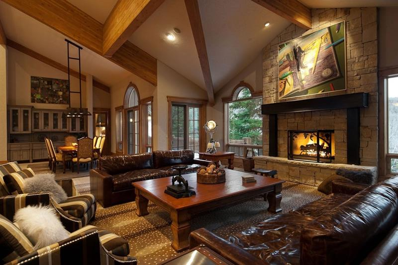 23 Living Room Designs With Fireplaces-16
